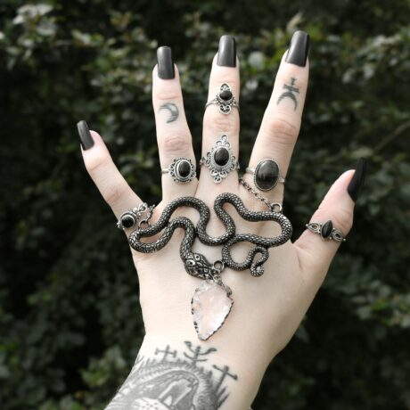 entwine-serpent-necklace-restyle-sterling-silver-rings-hellaholics