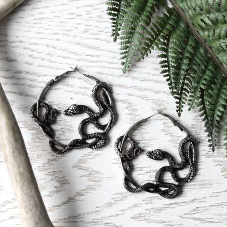 entwine-silver-earrings-serpent-restyle-hellaholics