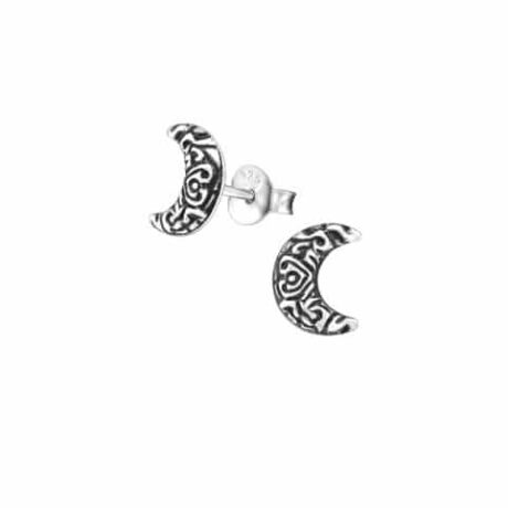 925-sterling-silver-petite-bohemian-crescent-moon-stud-earrings-hellaholics