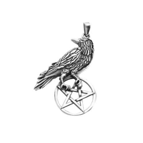 925-sterling-silver-raven-pentagram-pendant