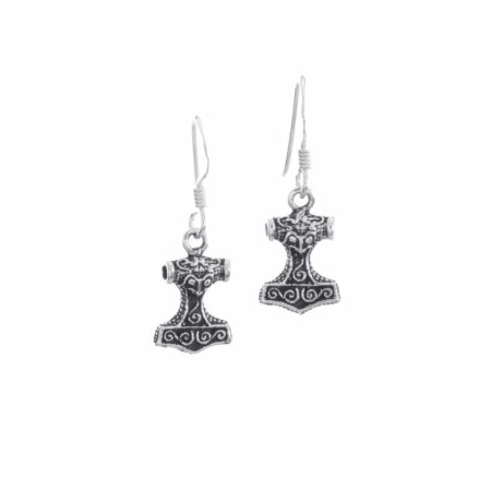925-sterling-silver-thors-hammer-viking-earrings-hellaholics
