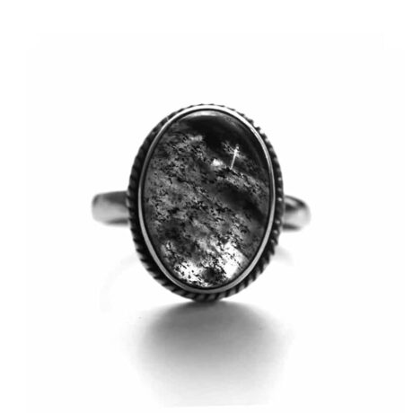 gaia-black-rutile-silver-ring