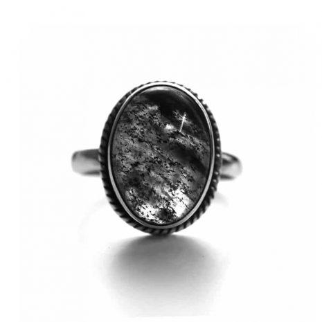 gaia-black-rutile-silver-ring
