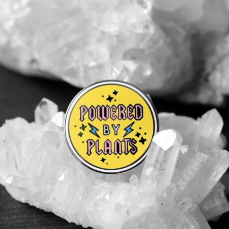 powered-by-plants-enamel-pin-punky-pins-sold-hellaholics