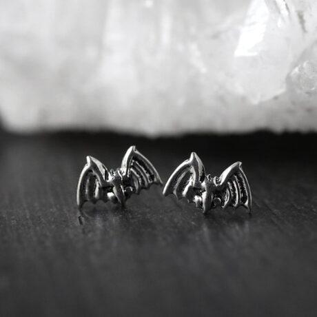 small-bat-earrings-sterling-silver-hellaholics