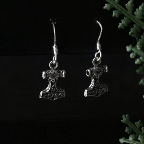 thors-hammer-sterling-silver-ear-hoop-earrings-hellaholics (1)