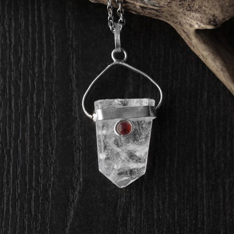 warrior-woman-crystal-quartz-necklace-close-uphellaholics