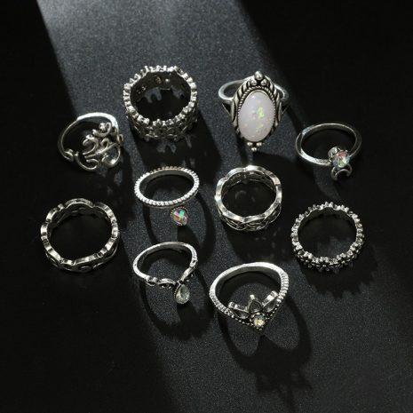 nikara-ring-set-black