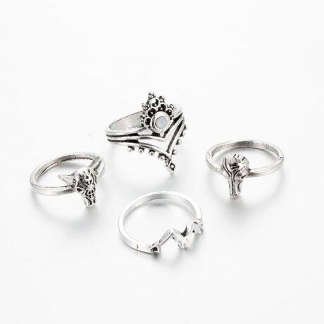 noshi-unicorn-ring-set