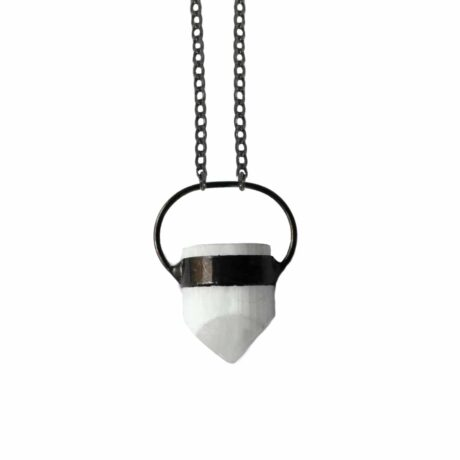circle-of-life-selenite-necklace-hellaholics