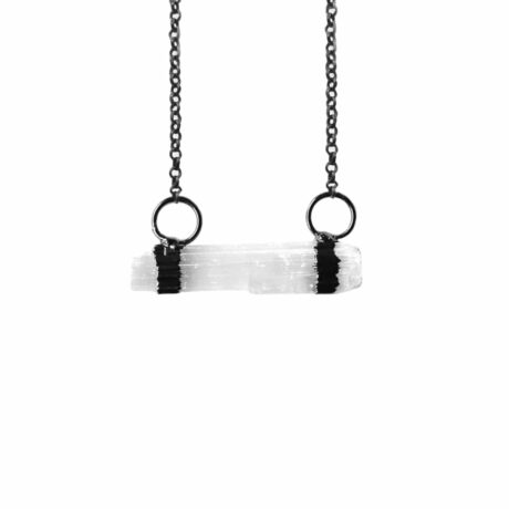 elevate-selenite-gun-metal-necklace-hellaholics