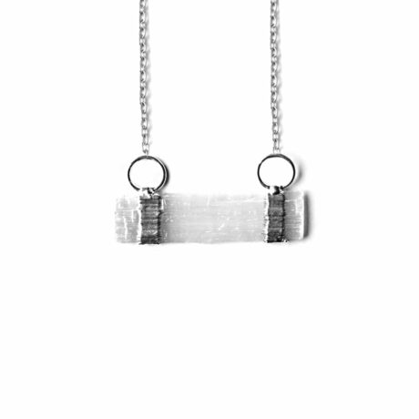 elevate-selenite-silvertone-necklace-hellaholics