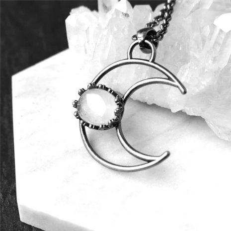 metis-crystal-quartz.crescent-moon-necklace-close-up-hellaholics