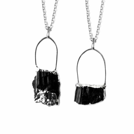 raw-silver-dipped-irregular-shaped-tourmaline-necklace-hellaholics