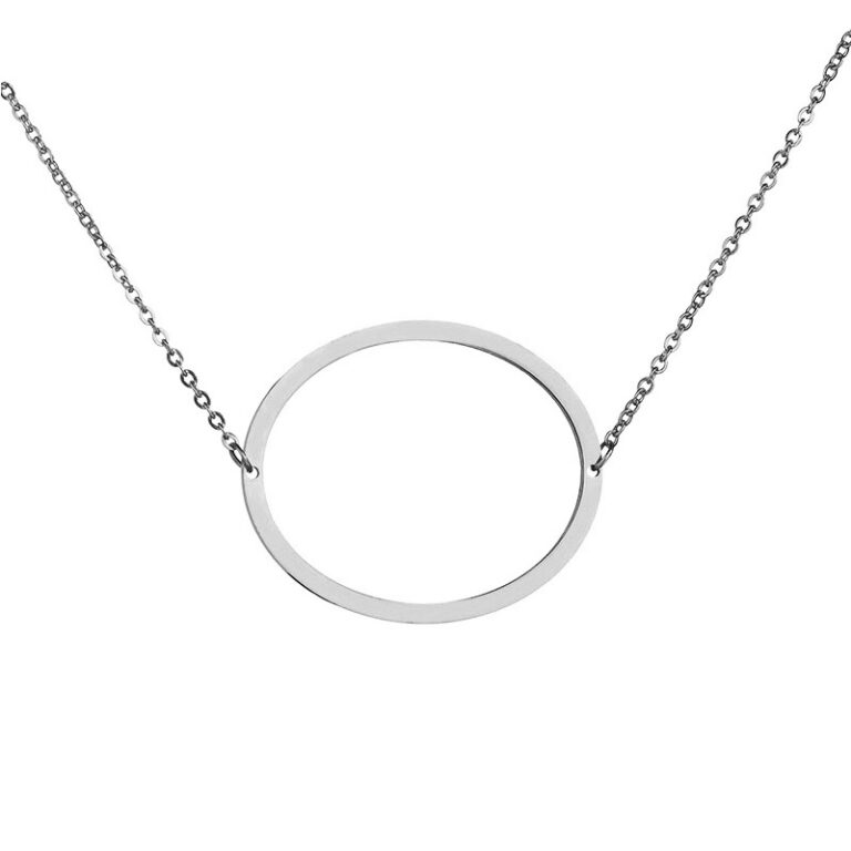 Stainless Steel O-ring Necklace