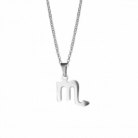 scorpio-stainless-steel-necklace-hellaholics