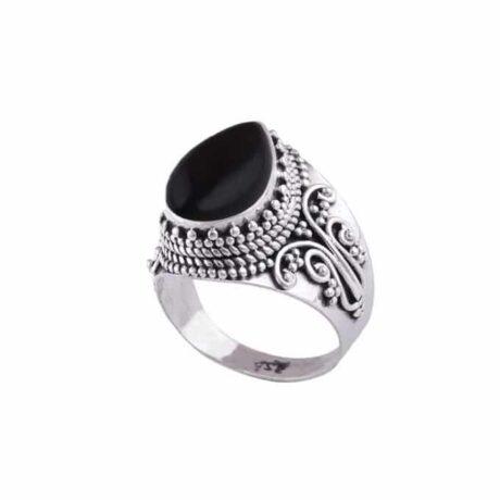 Nakti-Onyx-Sterling-Silver-Ring