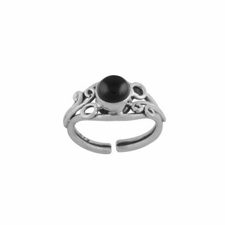 arvani-black-onyx-silver-mid-ring-hellaholics