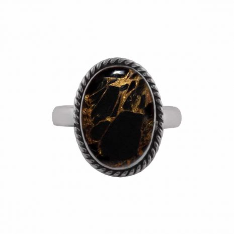 gaia-black-copper-turquoise-silver-ring-front-hellaholics(1)