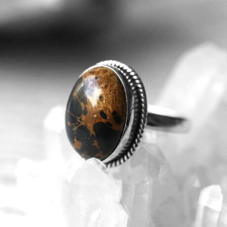 gaia-black-copper-turquoise-silver-ring-hellaholics
