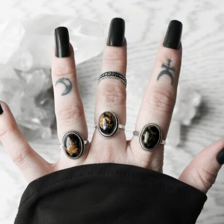 gaia-black-copper-turquoise-silver-rings-hellaholics-2