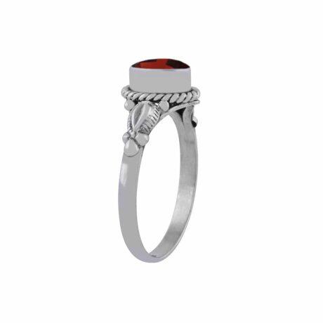 ganya-garnet-cutstone-silver-ring-side-hellaholics