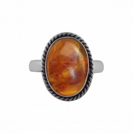 gaia-amber-sterling-silver-ring-front-hellaholics