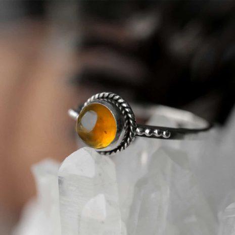 close-up-amber-silver-ring-hellaholics