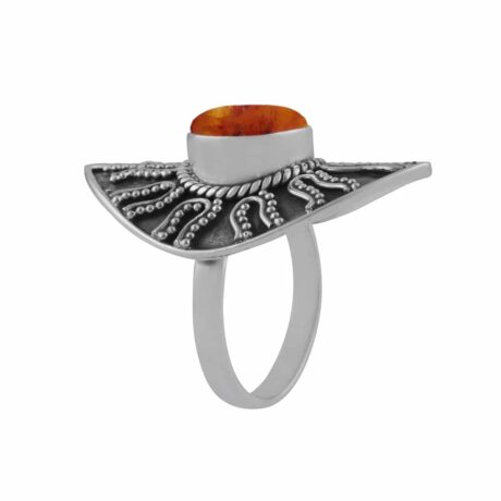 warriors-call-amber–sterling-silver-ring-hellaholics-2