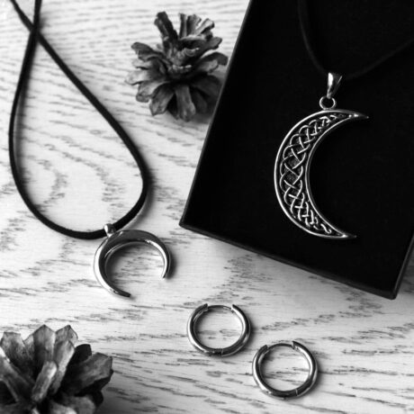 norse-crescent-moon-hoops-stainless-steel-hellaholics