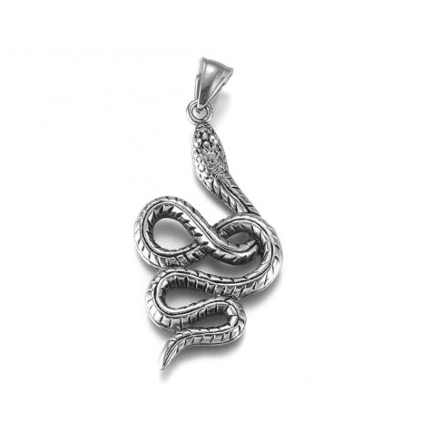 serpent-snake-stainless-steel-necklace-hellaholics