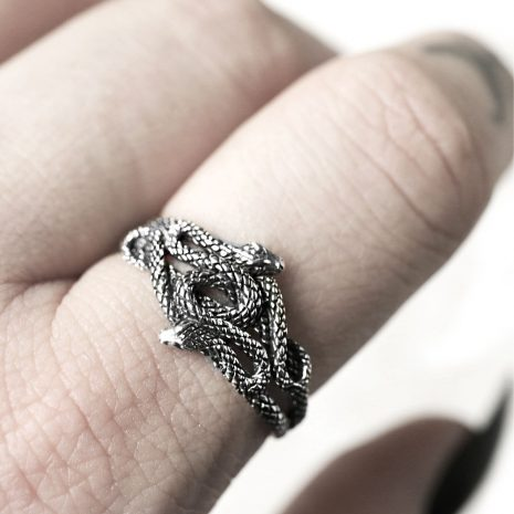 duo-serpent-snake-silver-ring-hellaholics