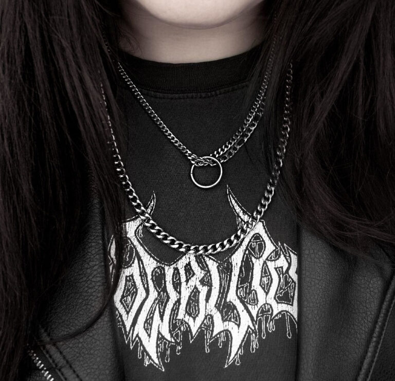 Siouxsie Stainless Steel Chain Necklace