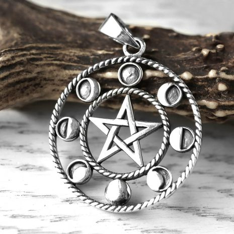 mystic-moonphase-pentagram-silver-pendant-hellaholics