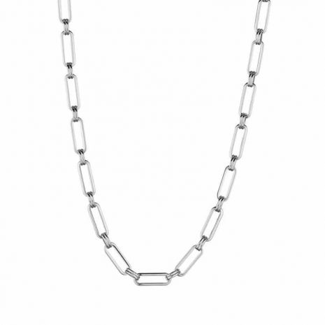 celine-stainless-steel-short-chain-necklace-hellaholics
