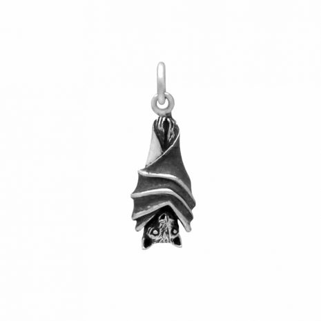 hanging-bat-sterling-silver-necklace-front-hellaholics